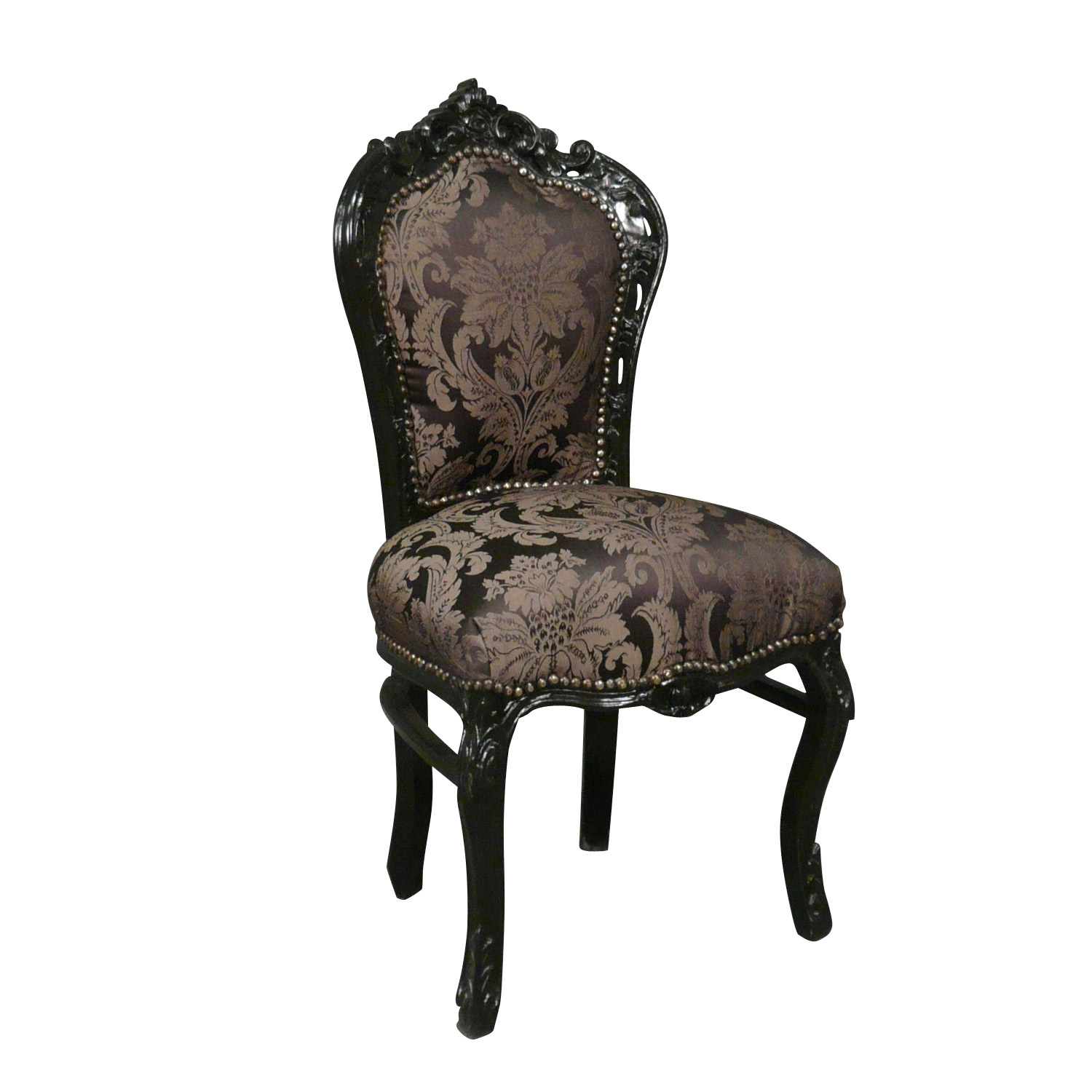 Chaise baroque galerie photo des chaises for Chaise baroque avec accoudoir