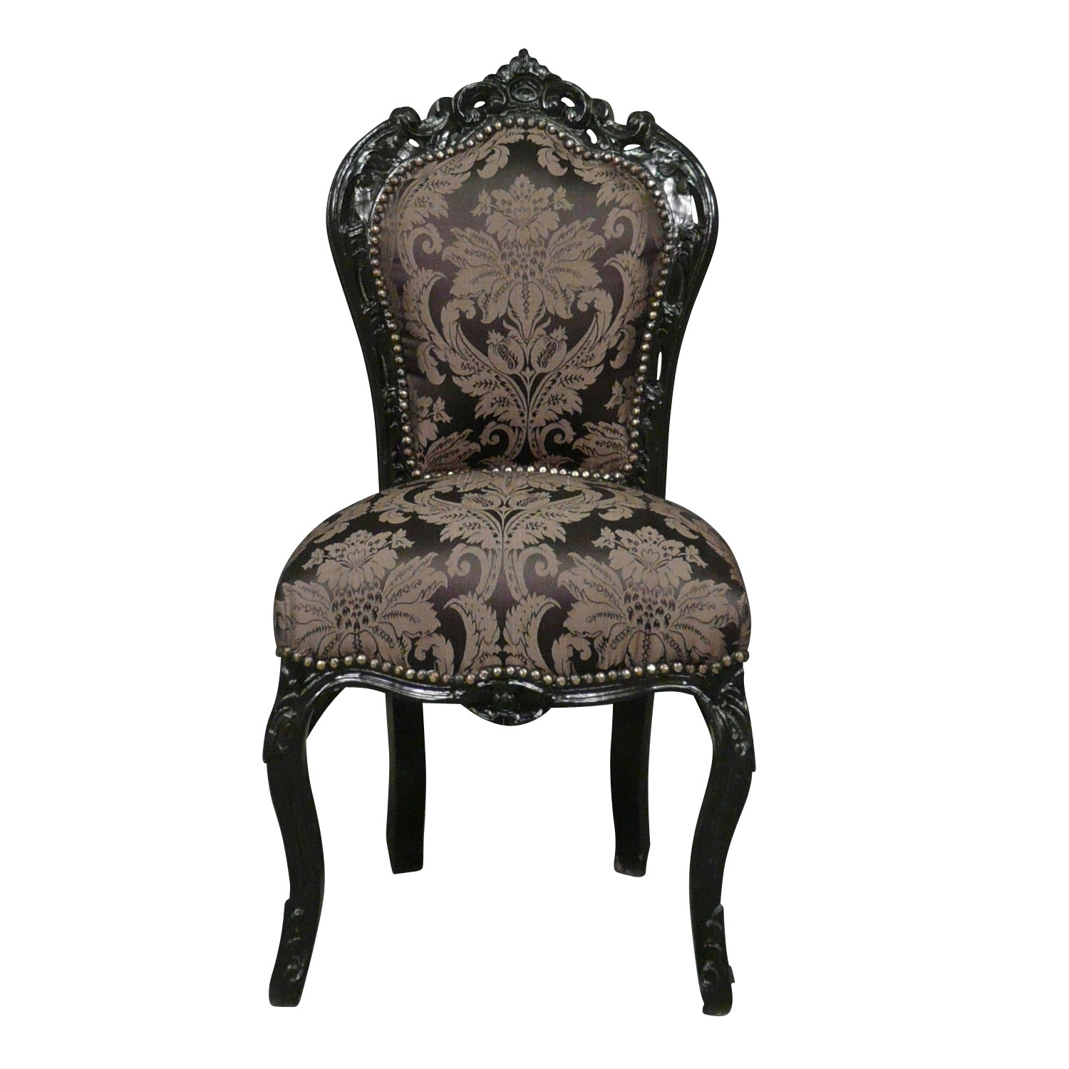 Baroque chair gallery armchair - Chaise baroque argentee ...