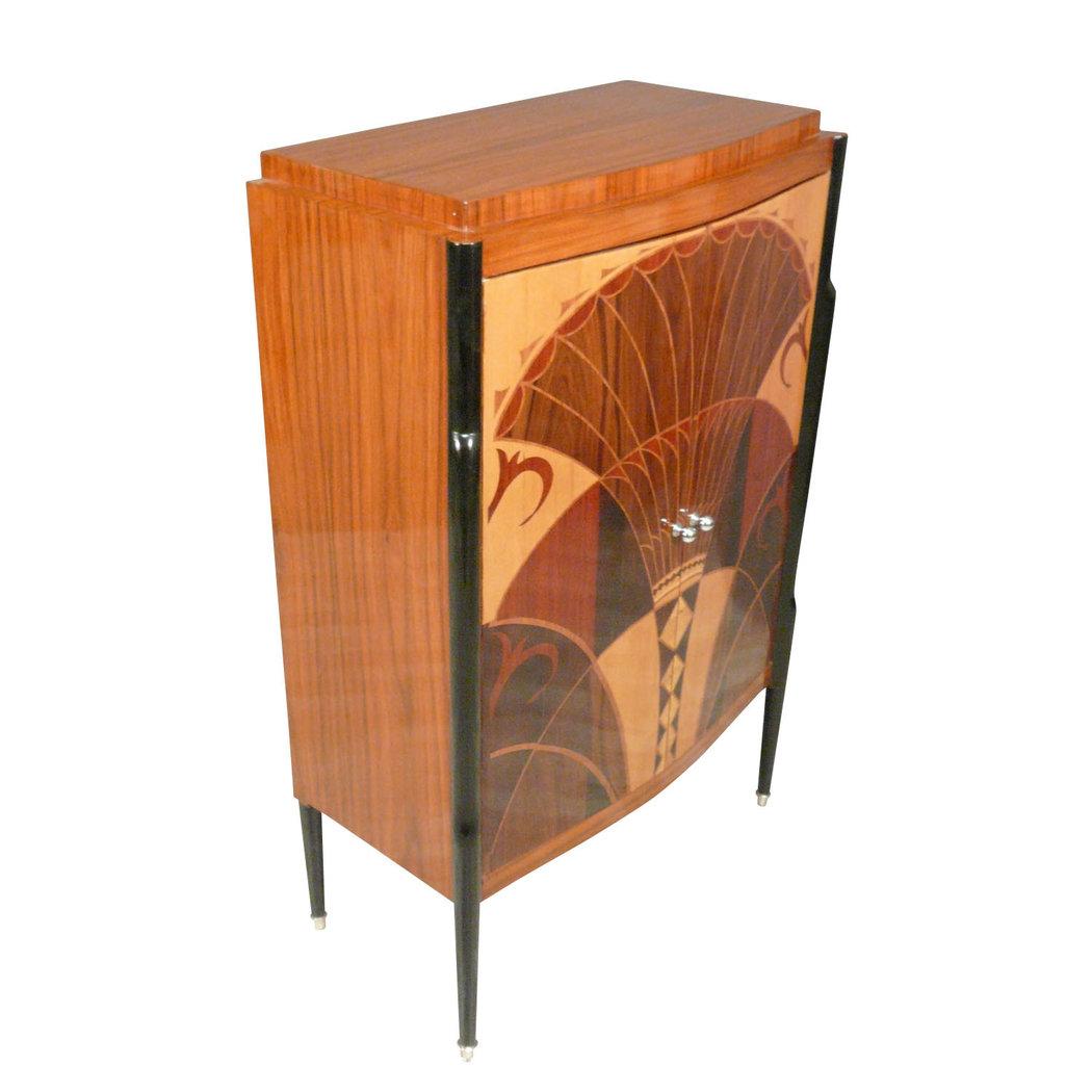 buffet art deco art deco mobili. Black Bedroom Furniture Sets. Home Design Ideas