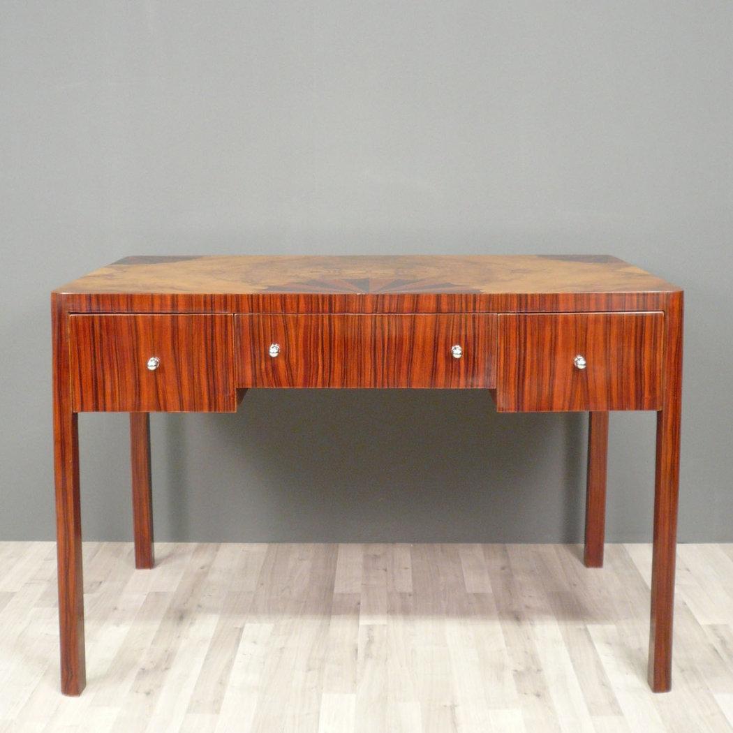 art deco desk art deco furnitures. Black Bedroom Furniture Sets. Home Design Ideas