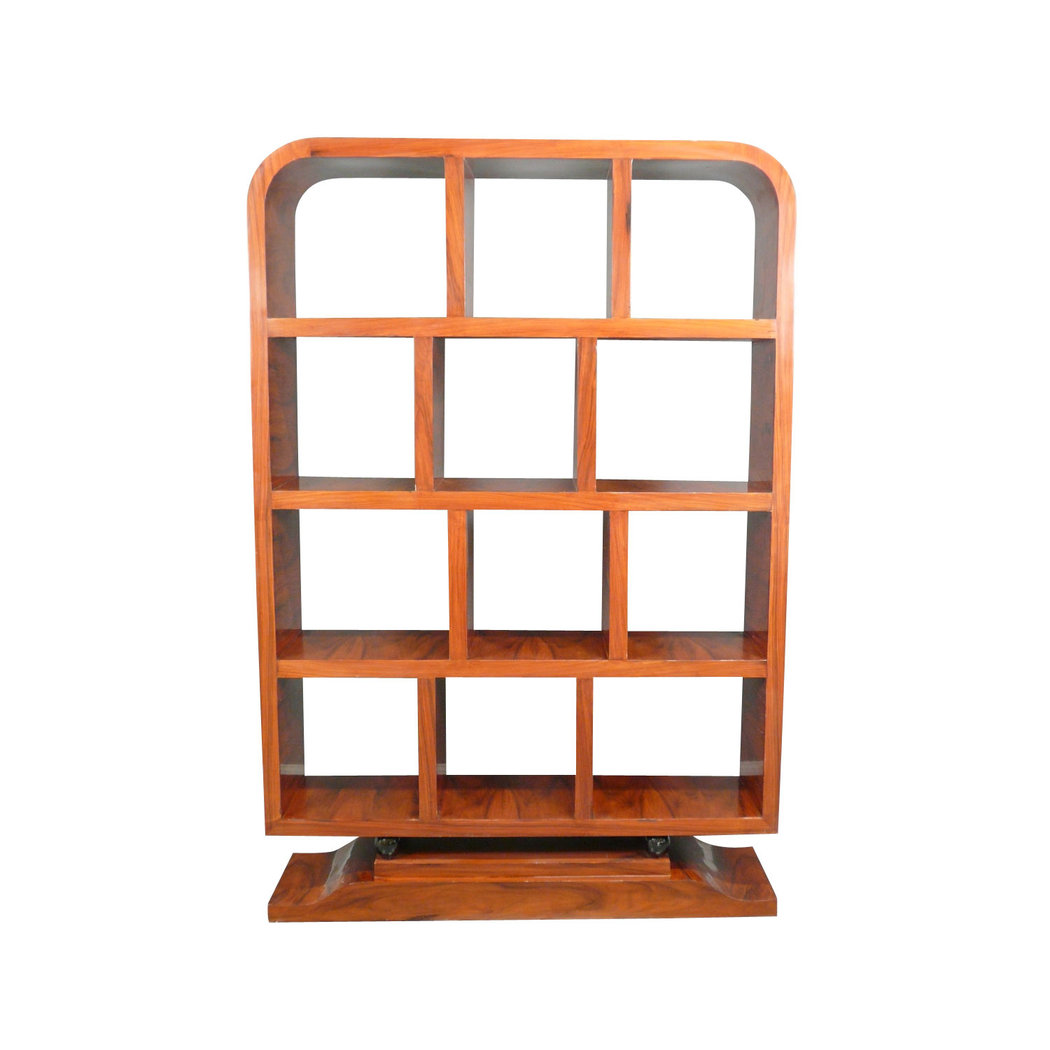 furniture art deco rosewood library art deco shelf. Black Bedroom Furniture Sets. Home Design Ideas