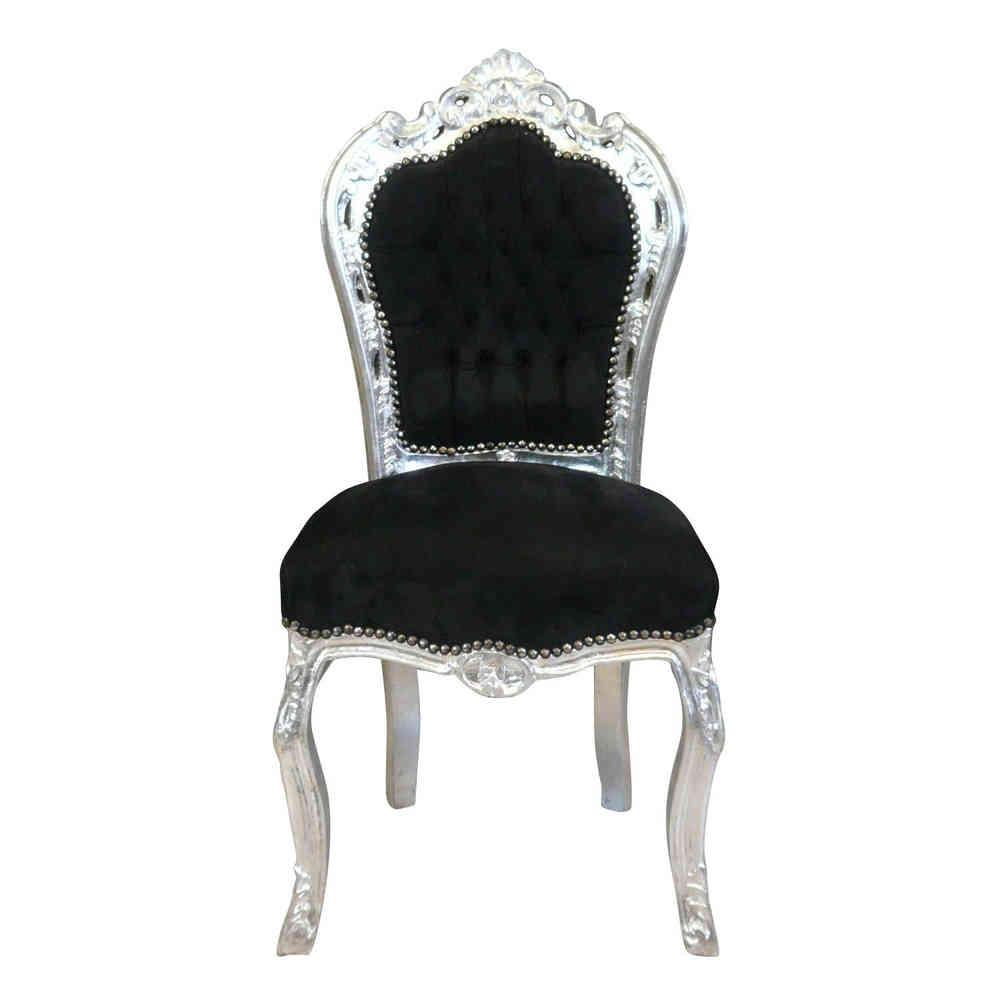 Black Baroque Chair