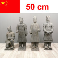 Statues of Chinese warriors in Xian 50 cm