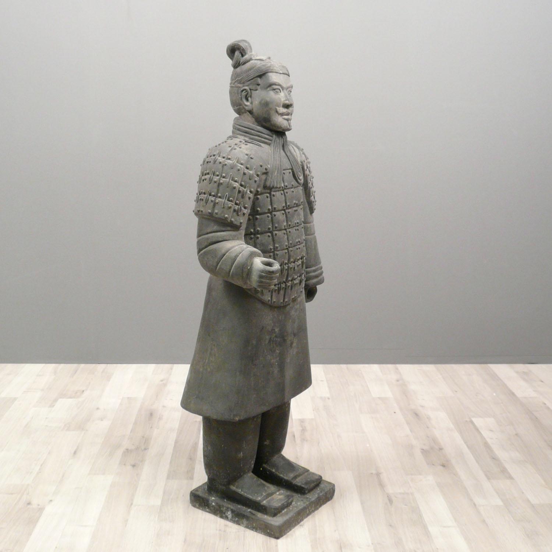 Chinese Warrior Statue Infantryman 100 Cm Xian Soldiers