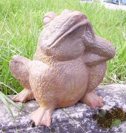 grenouille en fonte - Fauteuil Grenouille