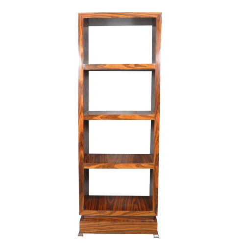 Art Deco rosewood shelf