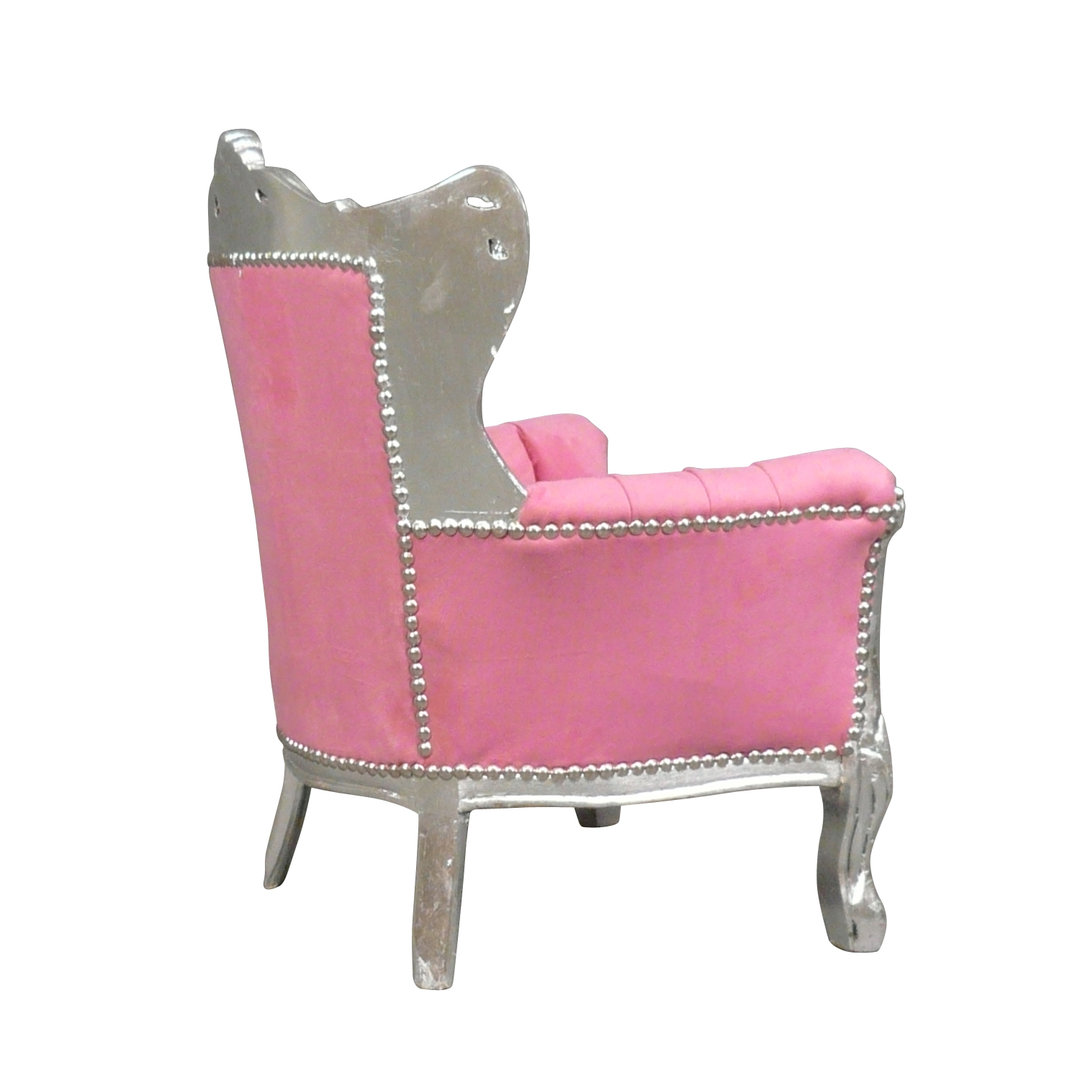 fauteuil enfant baroque rose chaises et meubles louis xv. Black Bedroom Furniture Sets. Home Design Ideas
