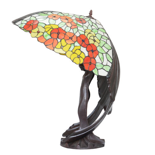 Flying Lady Tiffany Lamp
