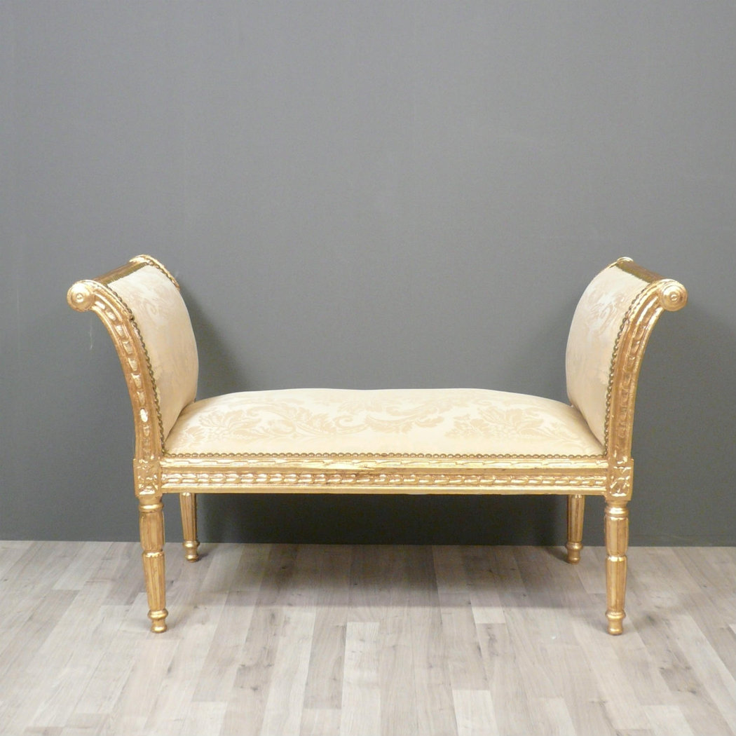 banquette louis xvi fauteuils louis xvi meuble de style. Black Bedroom Furniture Sets. Home Design Ideas
