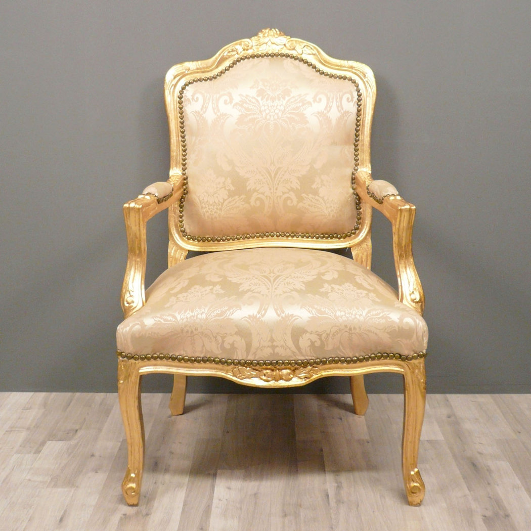 Chaise louis 15 interesting bergre louis xv fleurettes rampes gondole with chaise louis 15 - Fauteuil louis xv moderne ...