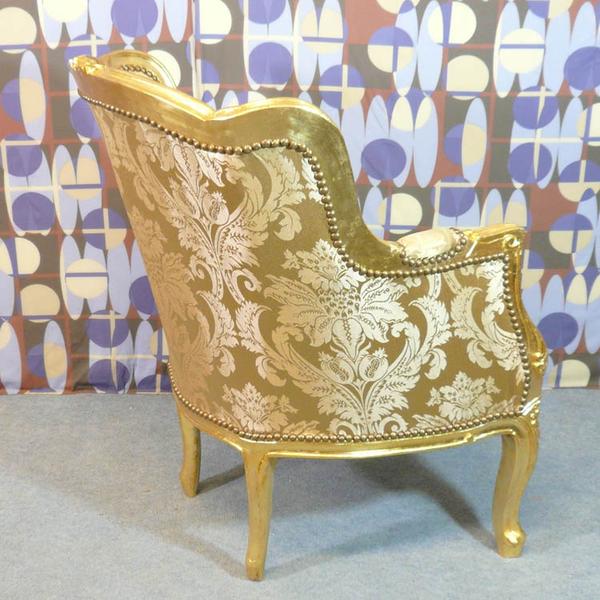 Fauteuil berg re style louis xv meubles art d co lampe - Fauteuil style bergere ...