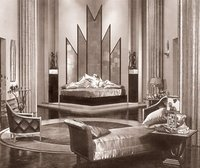 The art deco furniture