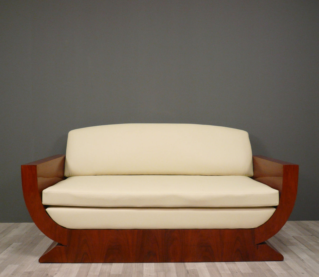 Art deco sofa art deco furniture - Canape art deco cuir ...