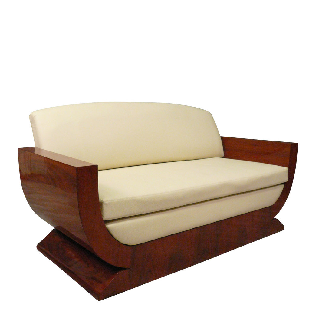 Art deco sofa and chairs for Canape poltrone et sofa