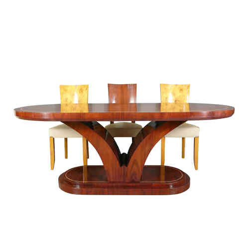 Art Deco rosewood table