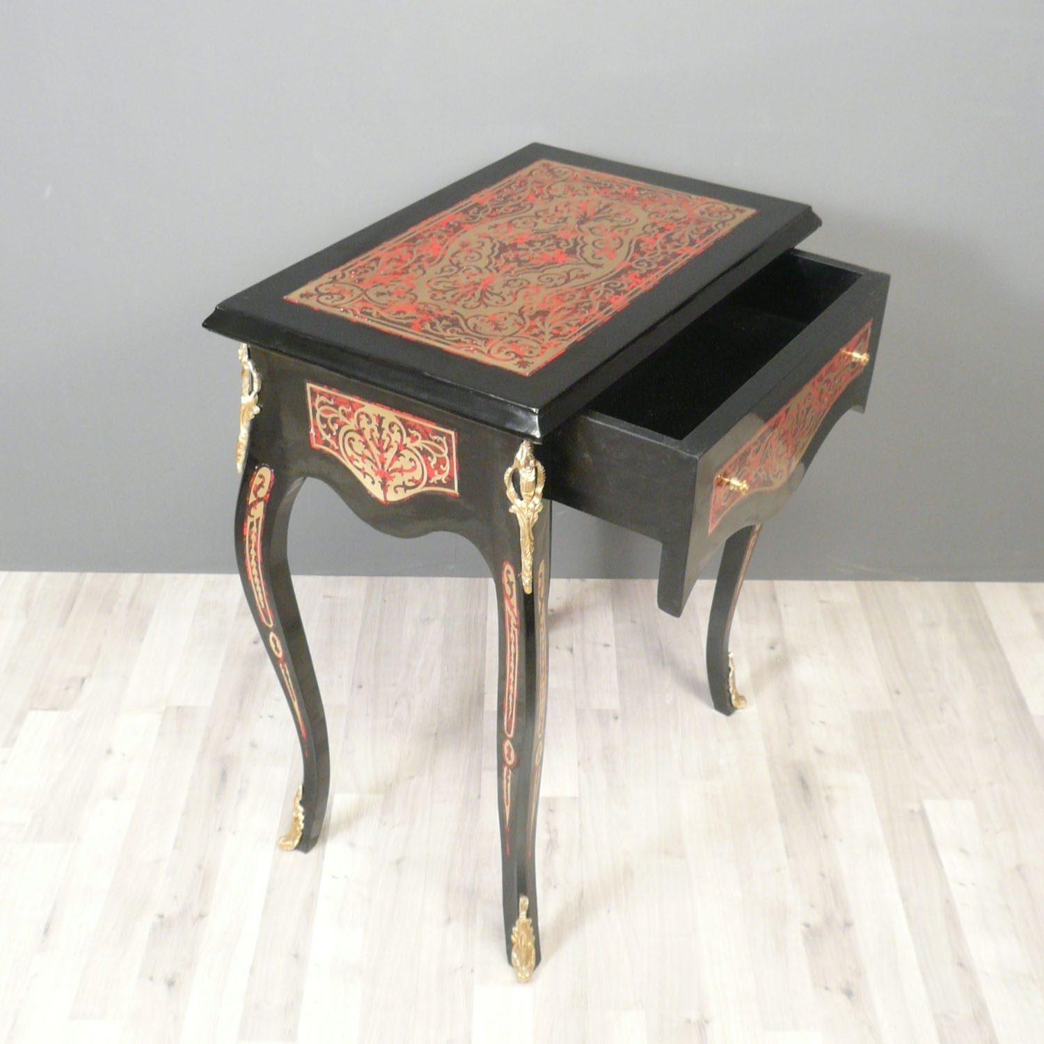 Table louis xv boulle furniture style - Table louis xv ...