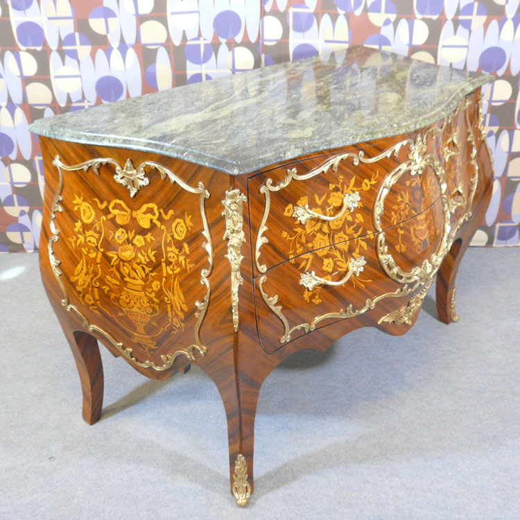 Commode louis xv commodes de style bureau louis xv for Meuble style louis 15