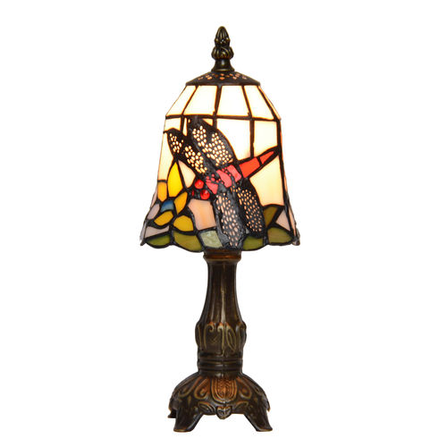 Tiffany lamp with cherubs