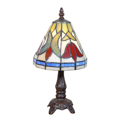 Lampe Tiffany aux tulipes