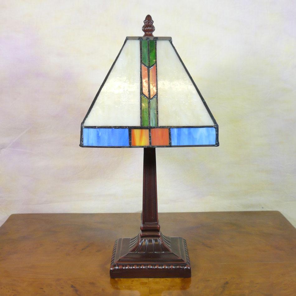 Lampada tiffany di missione illuminazione sospensione for Piani di stile di missione
