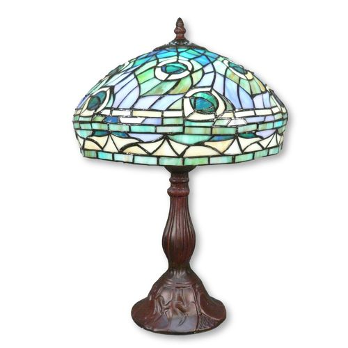Tiffany Lampe Modell Peacocok