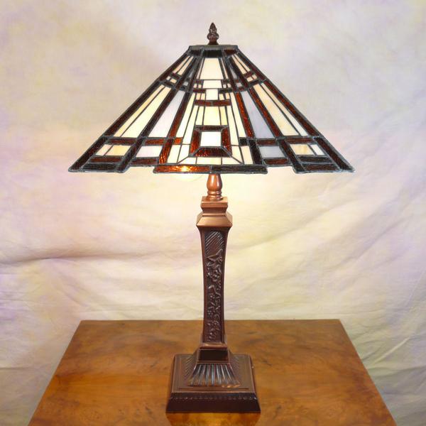 Art Deco Style Lamp, Art Deco Lampe