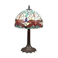 Manufacturing Tiffany lamps