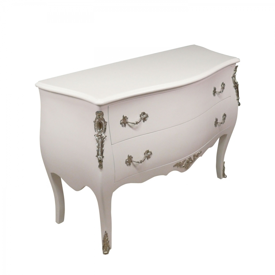Commode baroque white chests - Commode de style baroque ...