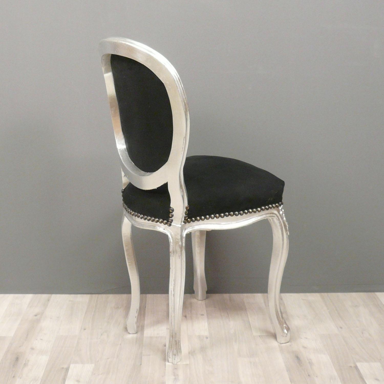 Petite chaise baroque de style louis xv chaises baroques - Chaise de bureau baroque ...