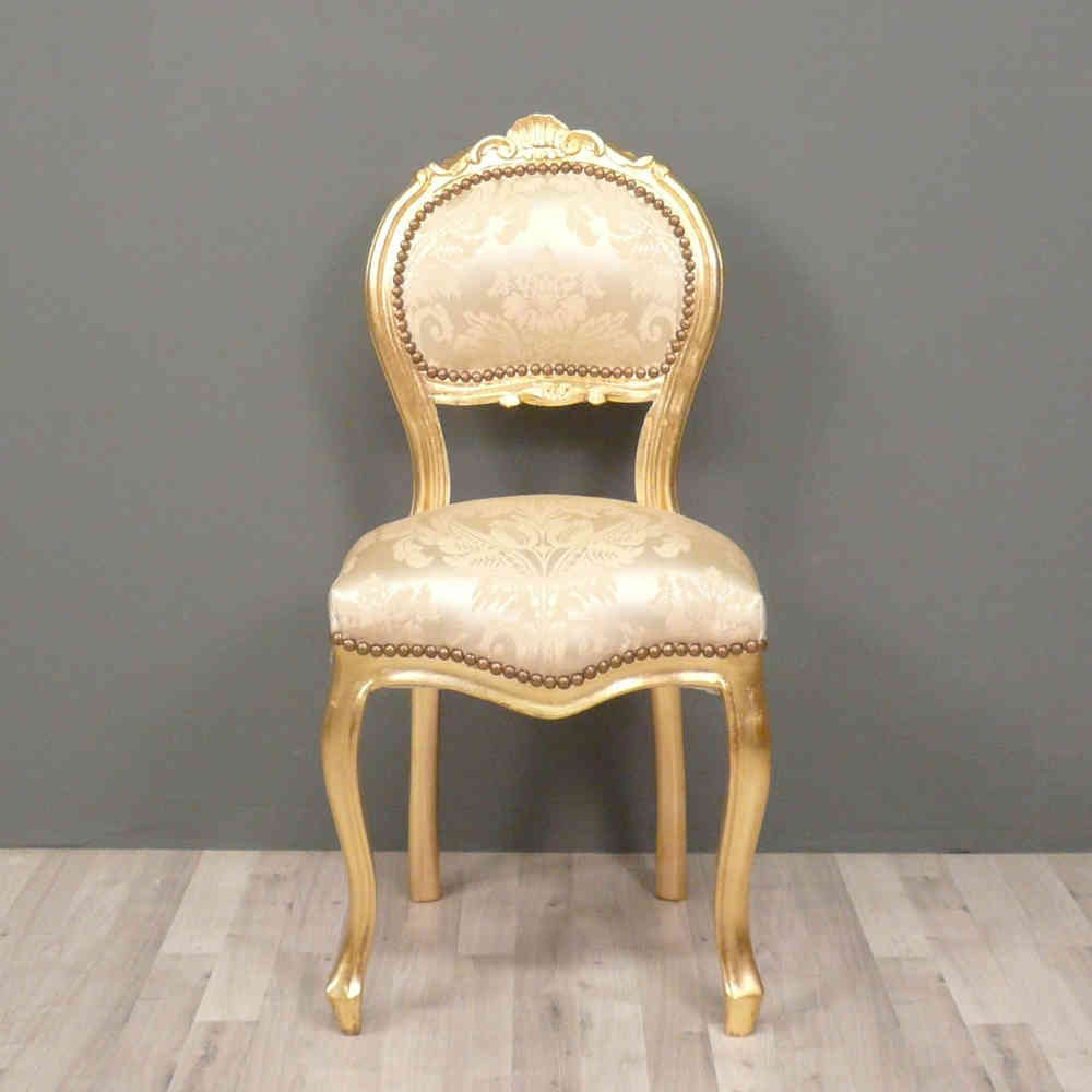 Louis XV chair - Tiffany lamps - Bronze statues - Baroque on
