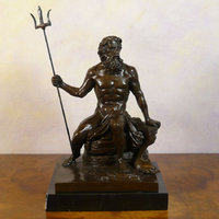 Mythology statues in bronze