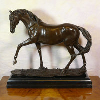 Bronze statues of horses