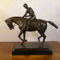 All bronze sculptures