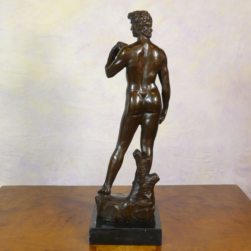 a description of the davids of the world on the bronze statue Find great deals on ebay for david statue in sculpture and carvings from  i do  my best to describe the condition and provide multiple photos for you t  nude  young man male david bronze marble statue sculpture figurine hot cast decor   this masterpiece is one of the world's most recognizable works of art and an.