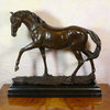 Statue en bronze - cheval - La jument