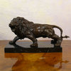 Bronze statue of a Lion