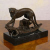Panther - Bronze sculpture