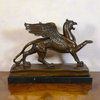 Sculpture en bronze - Le Griffon