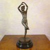 Sculpture en bronze art déco - Danseuse