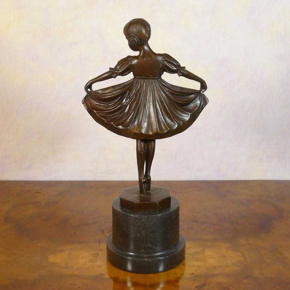 Jeune Danseuse Statue En Bronze Sculptures Art D Co