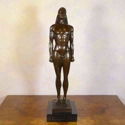 Kouros - bronze reproduction of a Greek statue of Kouroi