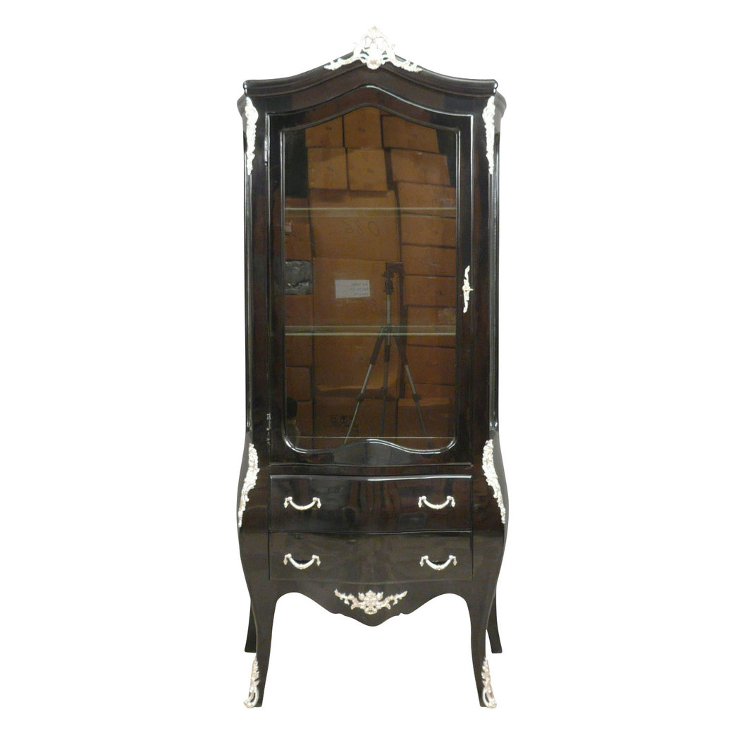 Vitrine baroque black
