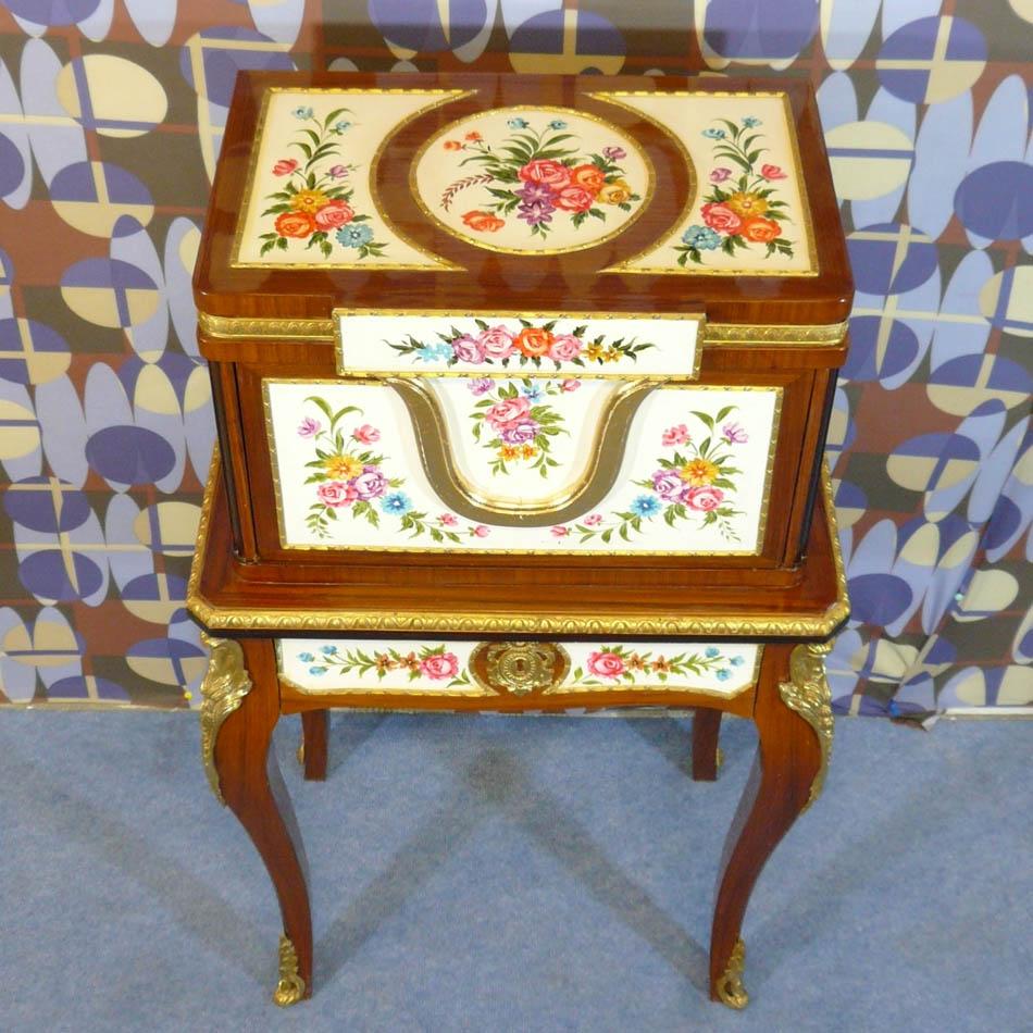 Secr taire louis xv meubles de style reproductions de - Meuble de style louis xv ...