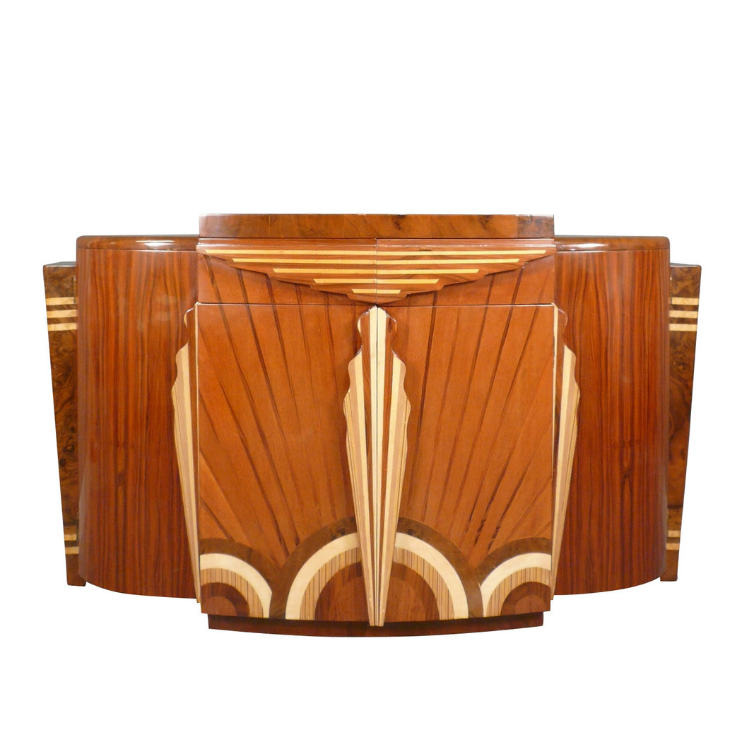 Art deco buffet art deco furniture for Deco meuble furniture richibucto