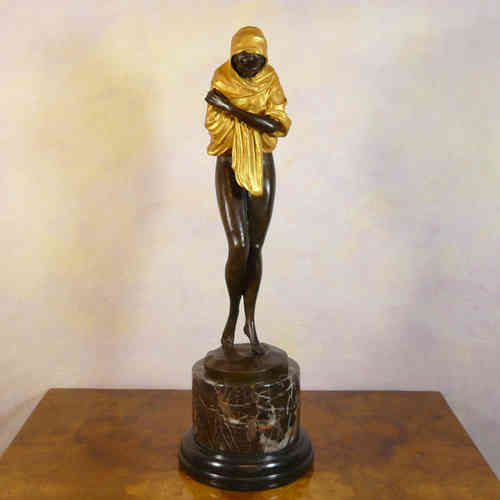 Oriental bronze sculpture