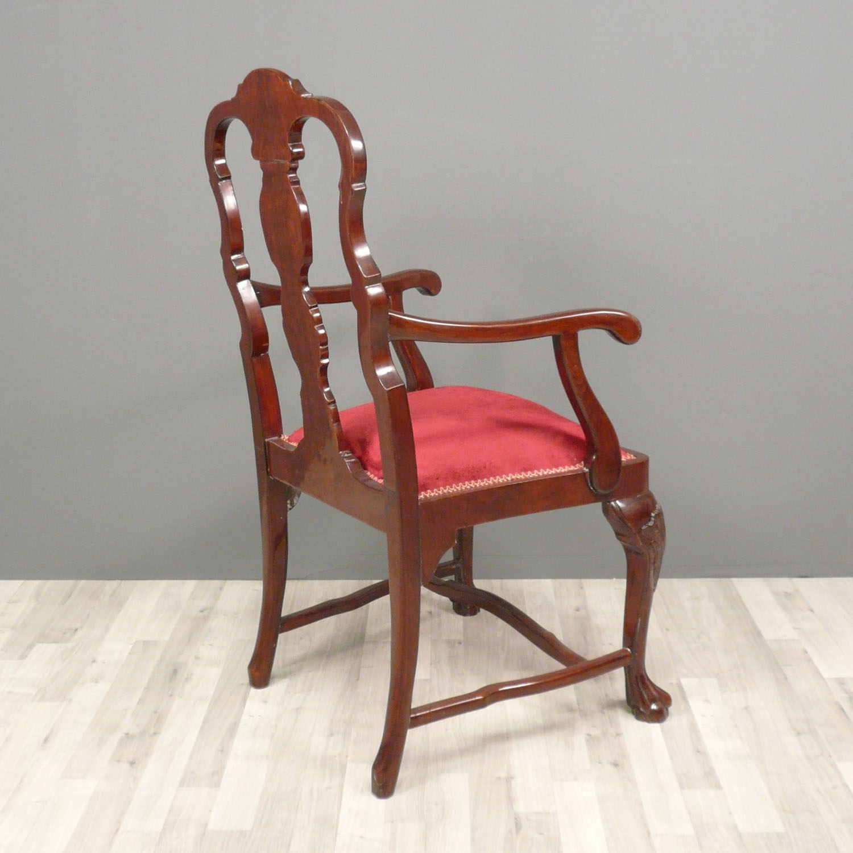 table chippendale set complet meubles. Black Bedroom Furniture Sets. Home Design Ideas