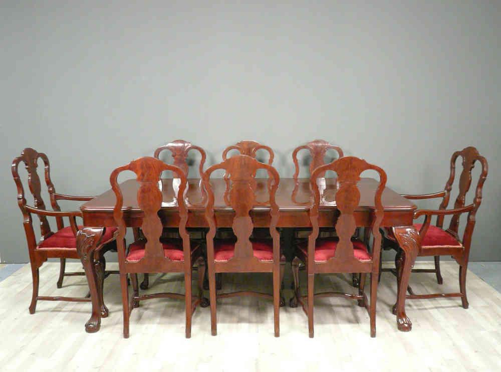 Table Chippendale Set Complet Meubles