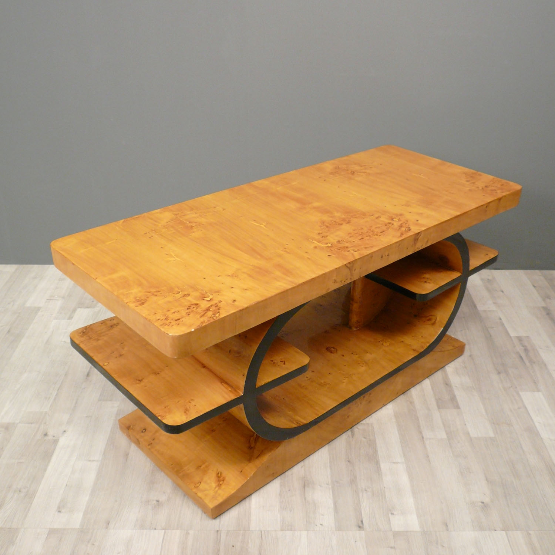Table Art D Co En Loupe D Orme Meubles Art D Co # Mobilier En Orme