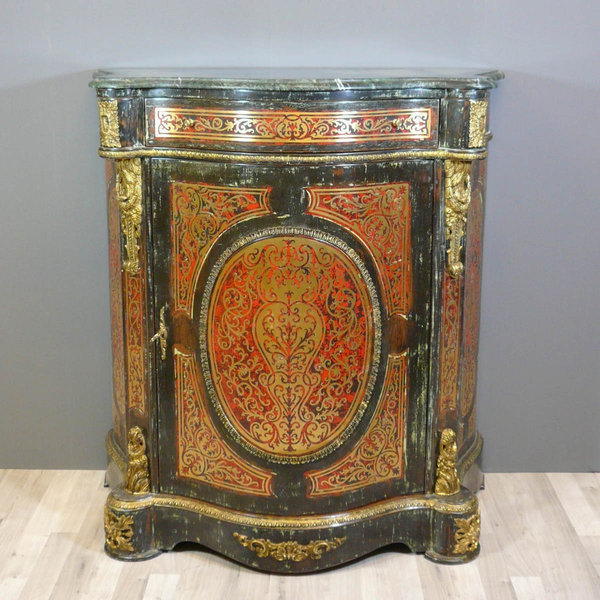 Napoleon iii style buffet boulle - Tiffany lamps - Bronze statues ...