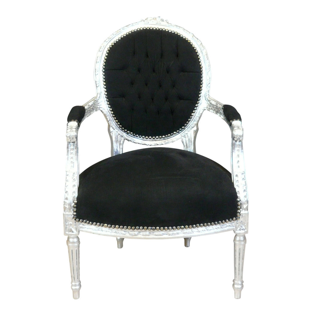 fauteuil louis xvi de style baroque fauteuil baroque. Black Bedroom Furniture Sets. Home Design Ideas